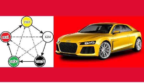 Người mệnh kim mua xe màu gì hợp nhất?