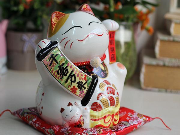 Mẹo bài trí mèo thần tài ở Cửa hàng giúp kinh doanh thuận lợi