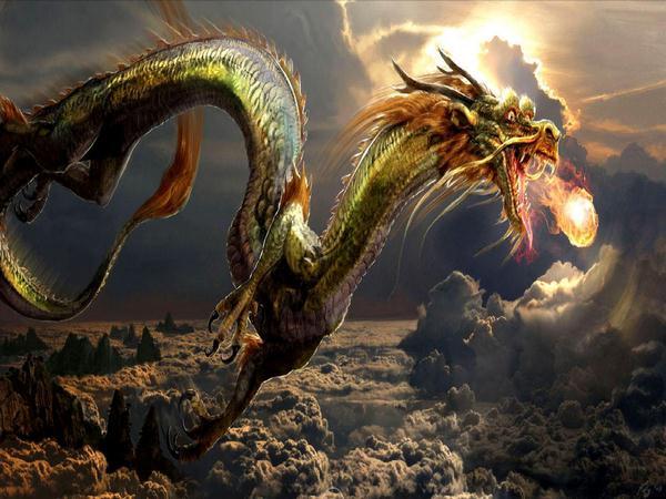 Ngủ mơ thấy rồng bay là điềm báo thuận lợi
