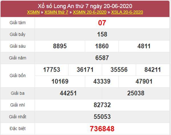 Dự đoán XSLA 27/6/2020 chốt KQXS Long An cực chuẩn