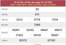 Dự đoán XSGL 9/10/2020 chốt số Gia Lai chính xác nhất