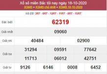Dự đoán XSMB ngày 19/10/2020 chốt lô VIP miền Bắc thứ 2