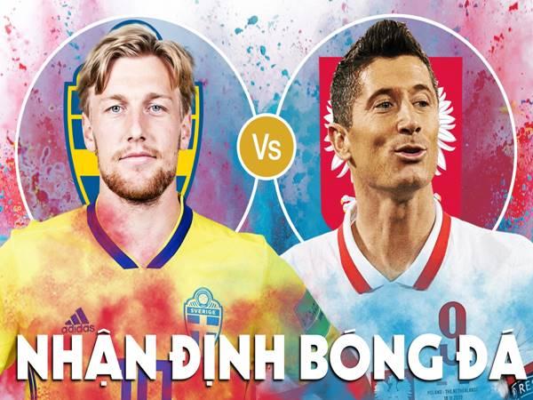 Nhận định Thụy Điển vs Ba Lan, 23h00 ngày 23/6 VCK Euro