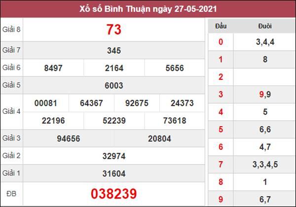 Dự đoán XSBTH 3/6/2021 thứ 5 chốt lô VIP Bình Thuận