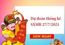 Dự đoán thống kê SXMB 27/7/2021
