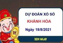 Dự đoán XSKH ngày 18/8/2021