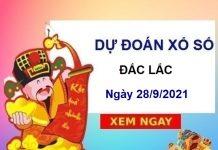 Dự đoán KQXSDLK ngày 28/9/2021